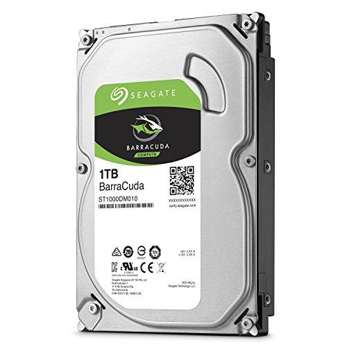 SEAGATE Desktop Barracuda 7200 1TB HDD 7200rpm SATA serial ATA 6Gb/s NCQ 64MB cache 8,9cm 3,5Zoll BLK