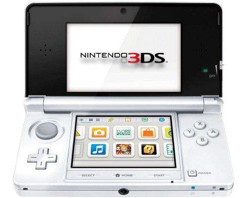 Nintendo 3DS - Konsole, schneewei�