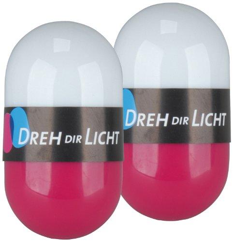 Dreh dir Licht Pink 2er Set