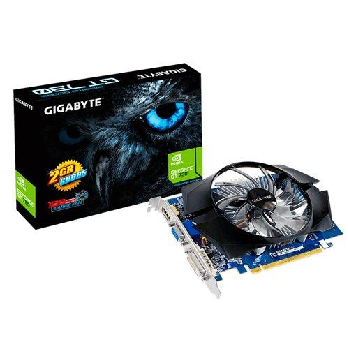 GIGABYTE GeForce GT 730 2048MB GDDR5 64bit PCI-E 2.0 D-Sub Dual Link DVI-D HDMI aktiv