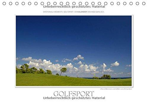 Emotionale Momente: Golfsport. / CH-Version (Tischkalender 2017 DIN A5 quer): Golf ist eine Leidenschaft. Golf ist Sport. Golf ist das sch�nste Spiel ... (Monatskalender, 14 Seiten ) (CALVENDO Sport)