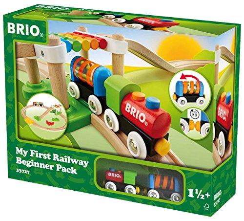 BRIO 33727 - Mein Erstes Brio Bahn Spiel Set, Zubeh�r