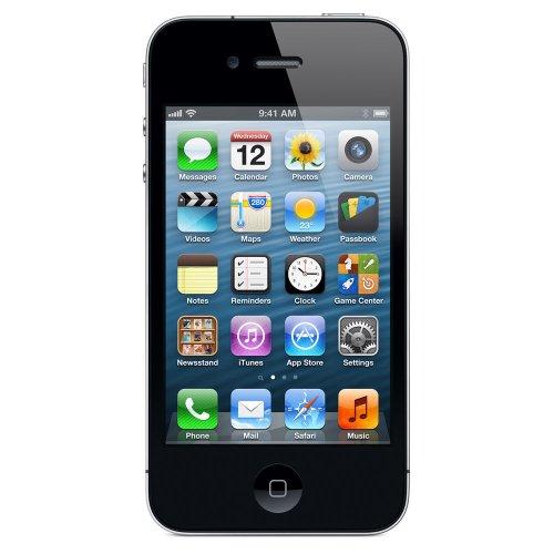 Apple iPhone 4 Smartphone (3,5 Zoll (8,9 cm) Touch-Display, 16 GB Speicher, iOS) schwarz