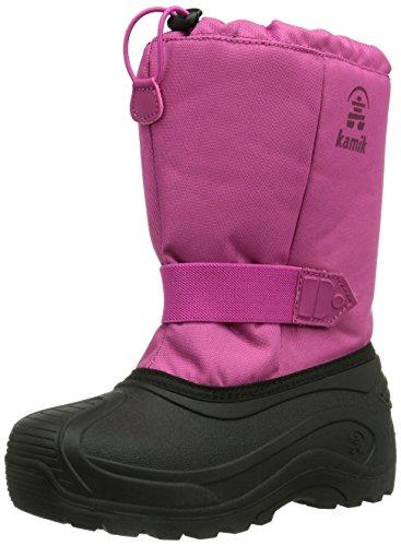 Kamik TICKLE8, Unisex-Kinder Schneestiefel, Pink (MAG-MAGENTA), 27 EU