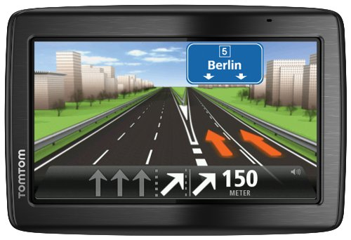 TomTom Via 135 M Europe Traffic Navigationssystem inkl. FREE Lifetime Maps, 13 cm (5 Zoll) Display, 45 L�nder, TMC, Fahrspur- und Parkassistent, Freisprechen per Bluetooth, IQ Routes, Map Share