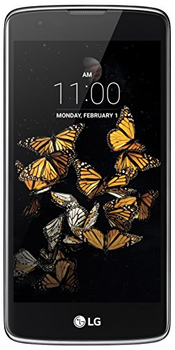 LG K8 Smartphone (12,7 cm (5 Zoll) Touch-Display, 8 GB interner Speicher, Android 6.0) schwarz/blau