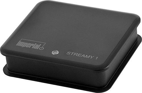 Imperial 22-9028-00 Streamy 1 WLAN-Audio-Receiver f�r Audio Streaming und Internetradio (AirPlay, DLNA, UPnP, Wi-Fi) schwarz