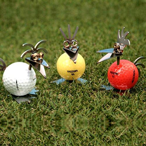Golf-Birdie bunt 3er Set