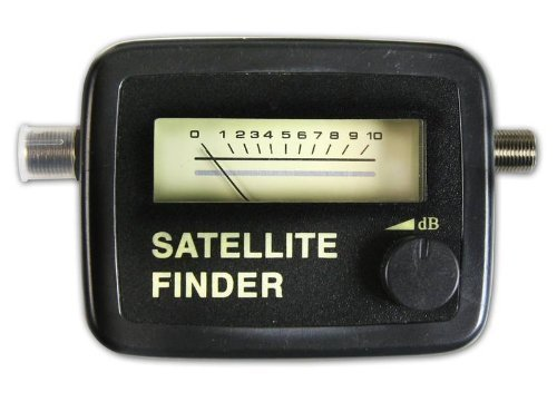 Satfinder, SAT-Finder, Satellitenfinder f�r digitale Satanlagen, Zum optimalen Ausrichten der Satellitenantenne