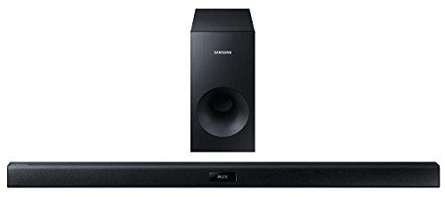 Samsung HW-J355 2.1 Soundbar (120W, passiver Subwoofer, Bluetooth) schwarz