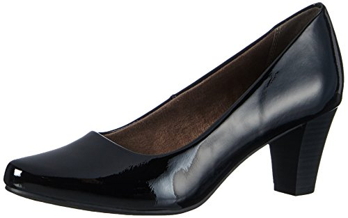 Tamaris 22430, Damen Pumps, Schwarz (BLACK PATENT 018), 37 EU