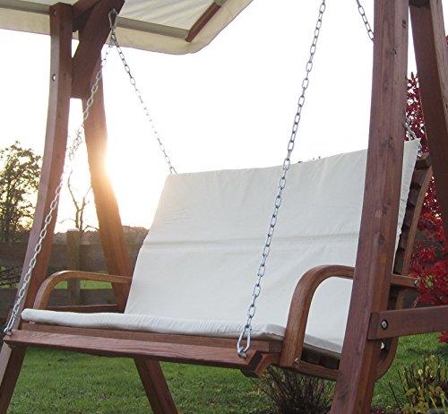 Design Bank aus Holz L�rche f�r Hollywoodschaukel 2-Sitzer KUREDO (ohne GESTELL!!!) von AS-S