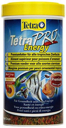 Tetra Pro Energy Premiumfutter (f�r alle tropischen Zierfische, mit Energiekonzentrat f�r extra Wohlbefinden, Vitaminstabilit�t und hoher N�hrwert, konzentrierter N�hrstoffgehalt Omega-3 Fetts�uren), 500 ml Dose