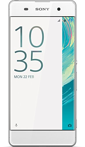 Sony Xperia XA Smartphone (5 Zoll (12,7 cm) Touch-Display, 16GB interner Speicher, Android 6.0) wei�