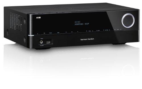 Harman Kardon AVR 161 5.1 Audio/Video Receiver (85 Watt, 5x HDMI, Internetradio, DLNA 1.5, Bluetooth, USB) schwarz