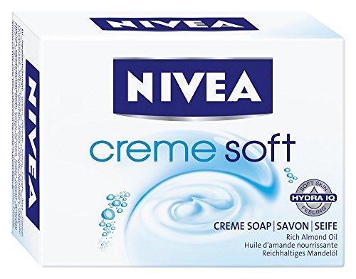 Nivea Creme Soft Cremeseife, 6er Pack (6 x 100 g)