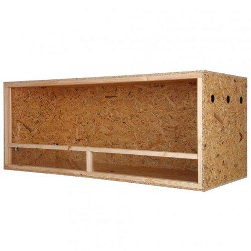 Holz Terrarium Holzterrarium 150x80x60cm Seitenbel�ftet Reptil Schlange Echse