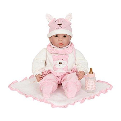 Puppe mit Baby-Zubeh�r, fein gezeichnetes Gesicht, ein Muss f�r alle Puppenmuttis