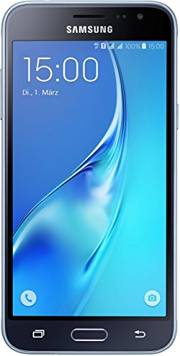 Samsung Galaxy J3 (2016) DUOS Smartphone (5,0 Zoll (12,63 cm Touch-Display, 8 GB Speicher, Android 5.1) schwarz