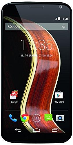 Motorola Moto X Smartphone (11,9 cm (4,7 Zoll) AMOLED-Touchscreen, 10 Megapixel Kamera, 2GB RAM, 16GB interner Speicher, Nano-SIM-Steckplatz, Android 4.4) walnut