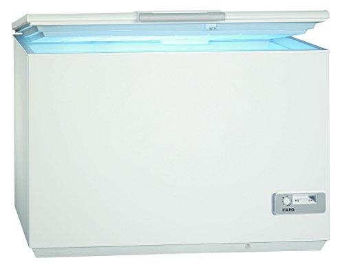 AEG ARCTIS A92300HLW0 Gefriertruhe / A+++ / 87,60 cm H�he / 122 kWh/ Jahr / 223 L Gefrierteil / Innenbeleuchtung / LowFrost-Technik / wei�