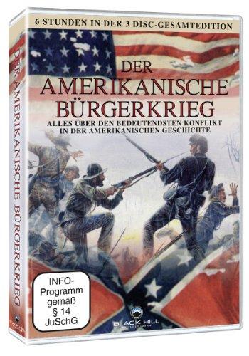 Der amerikanische B�rgerkrieg 3DVD Box