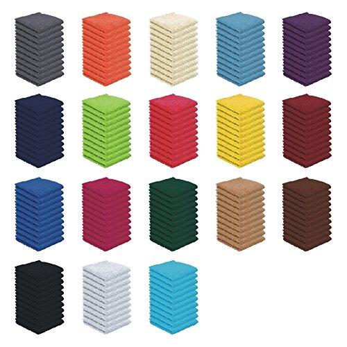 10er Pack - Seift�cher Set - 10 Seift�cher 30x30 cm - Farbe Schwarz