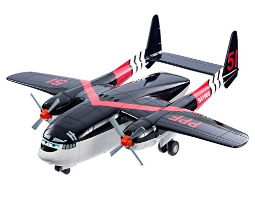 Mattel Fisher-Price Disney Planes 2 BFM27 - Cabbie Transportflugzeug, circa 40 cm lang