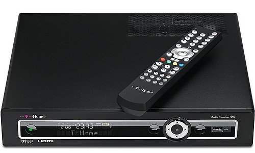 T-HOME Media Receiver MR300, T-Home Entertain, HD Video-Streaming, Set-Top-Box f�r IP-TV Streaming