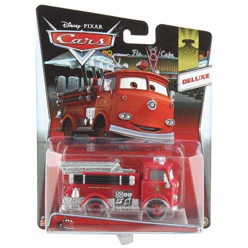 Mattel Y0539 - Disney Pixar Cars Deluxe in �bergr��e Die-Cast Vehicle, rot