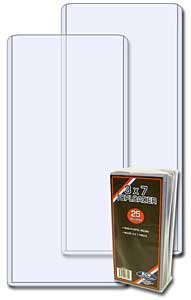 BCW Ticket 1 (One), 3 X 7 Notebook-Halter/Halterung (25 Packung)-Baseballspiel-Meters 0.00 Ball Spiel, Konzertkarten & anderen Collectibles Top Load