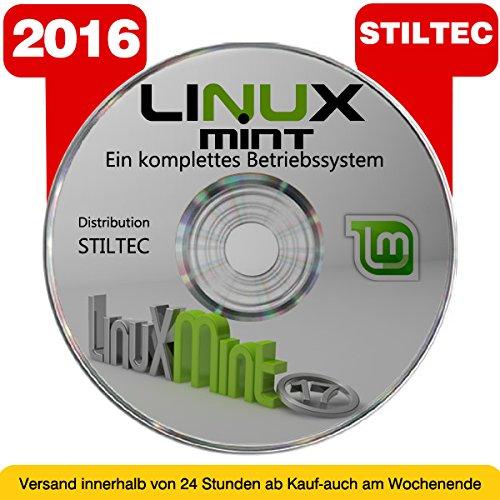 BETRIEBSSYSTEM LINUX MINT auf DEUTSCH auf DVD 32 oder 64 Bit NEU � Version 2016