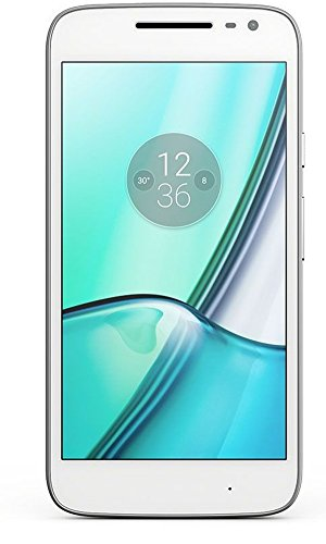 Lenovo Moto G4 Play Smartphone (12,7 cm (5 Zoll), 16 GB, Android) wei�