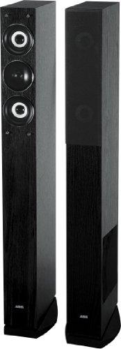 AEG LB 4710 3-Wege-Bassreflex-Lautsprecherboxen (500 Watt PMPO Verst�rker, Lautsprecherkabel, Paar) schwarz