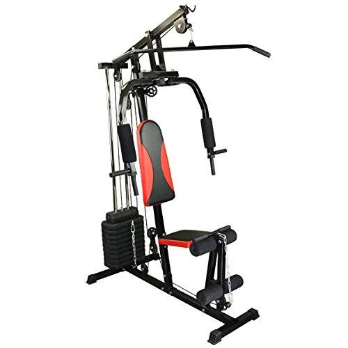 Fitness-Station Black Fire Hantelbank Fitnessger�t Kraftstation Heimtrainer von BB Sport