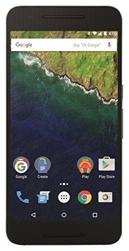 Google Nexus 6P Smartphone (5,7 Zoll (14,5 cm) Touch-Display, 64 GB interner Speicher, Android 6.0) graphit