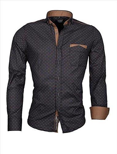 Carisma Hemd Polohemd Herrenhemd CR16 8250 navy Gr��e XL