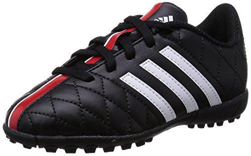 adidas 11questra tf j cblack/ftwwht/vivred, Gr��e adidas:3.5