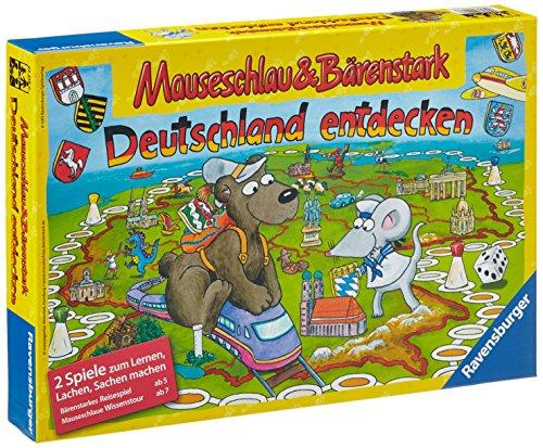 Ravensburger 22218 - Mauseschlau und B�renstark, Deutschland entdecken