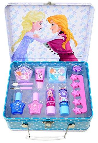 Disney Frozen / Die Eisk�nigin / Geschenk-Set: Winterzauber Make-up Koffer + Make-up (Schminke) - f�r Kinder
