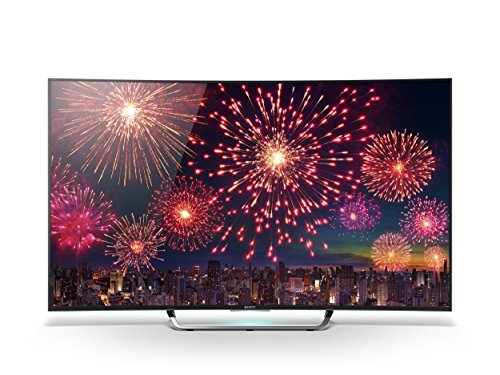 Sony KD55S8005CBAEP 138,8cm (55 Zoll) Curved Fernseher (4K Ultra HD, Triple Tuner, 3D, Android TV)