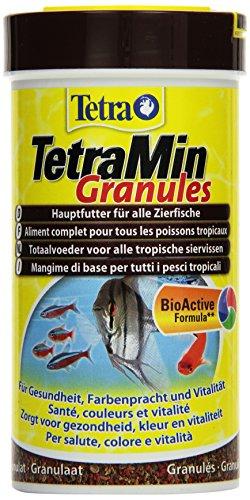TetraMin Granules (Hauptfutter in Granulatform f�r alle kleinen Zierfische wie z.B. Salmler und Barben), 250 ml Dose