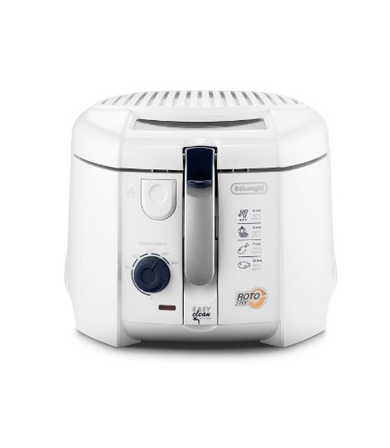 DeLonghi F 28.311.W1 Rotofritteuse (1800 Watt, Easy Clean System) wei�