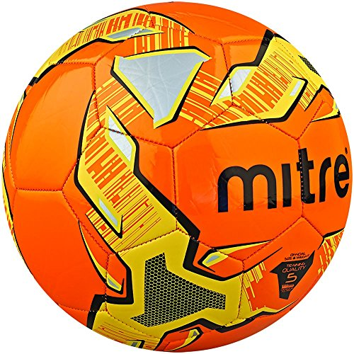 Mitre Trainingsfu�ball Impel, Orange/Schwarz/Gelb, 5, BB1052