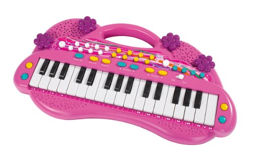 Simba 106830692 - My Music World Girls Keyboard 39cm