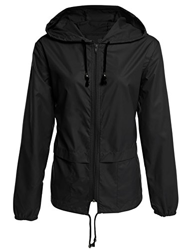 ZEARO Mode Damen Regenmantel Umwelt-freundliche Wandern Sport Jacken M�ntel