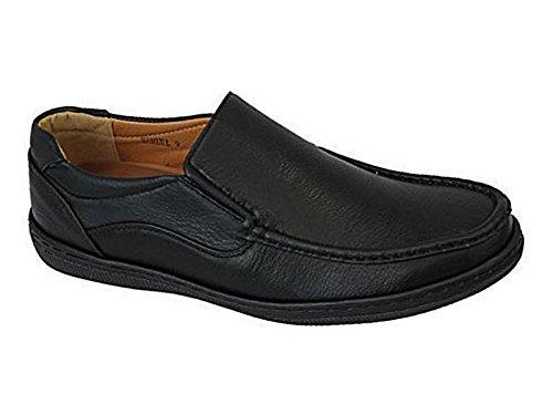 Foster Footwear , Herren Mokkasins, schwarz - schwarz - Gr��e: 44