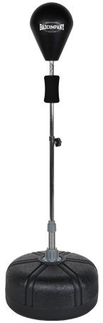 Pro Punching Stand / Standbox-Trainer h�henverstellbarer Boxstand inkl. PU Punchingball schwarz BCA-76