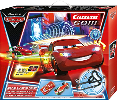 Carrera 20062332 - Go Disney, Pixar - Neon Shift 'N Drift, Spielbahnen