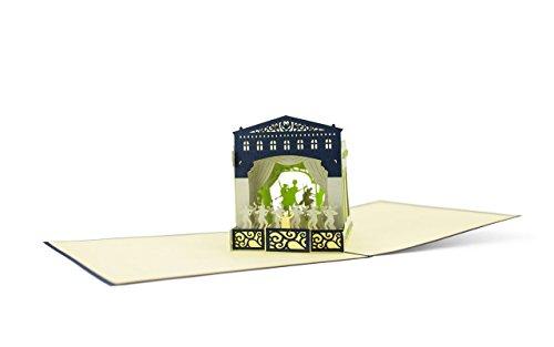 A02 Theater oder Konzertgutschein, sch�ne Verpackung f�r Konzertkarten oder Theaterkarten